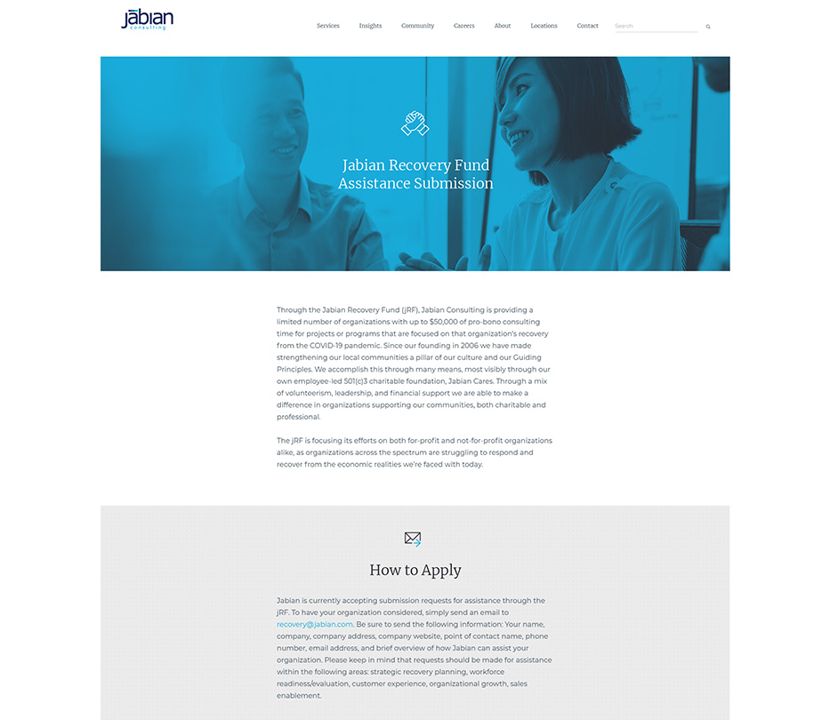 Jabian Consulting work sample 3
