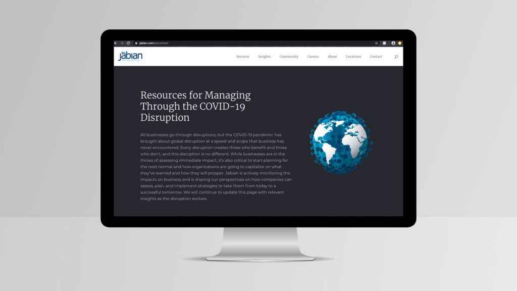 Jabian Consulting work sample 1